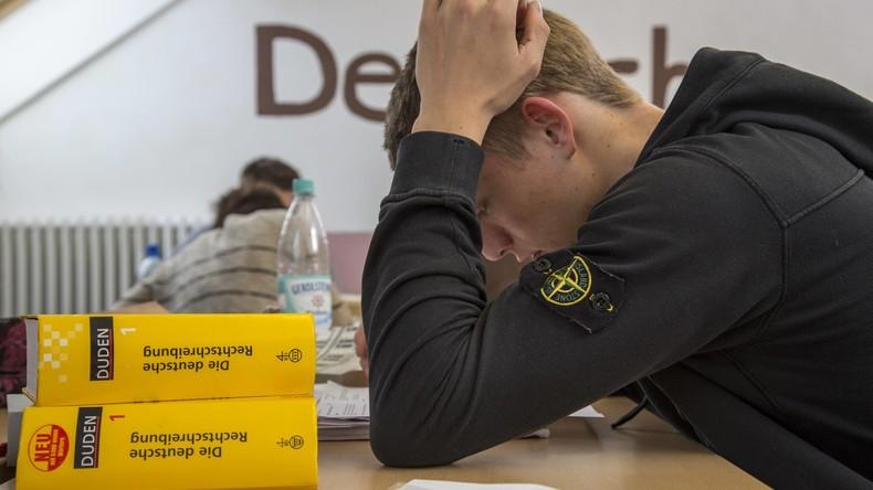 Fast jeder Zweite scheitert im Integrationskurs am Deutschtest