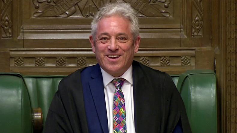 Brexit-Abkommen: Parlamentspräsident Bercow lässt erneute Abstimmung am Freitag zu