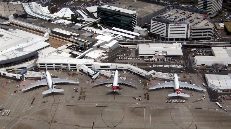 Flughafen Sydney wegen Rauchs im Tower kurzzeitig lahmgelegt