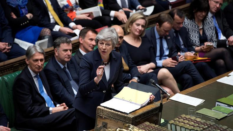 LIVE: Britisches Unterhaus stimmt noch einmal über Brexit ab