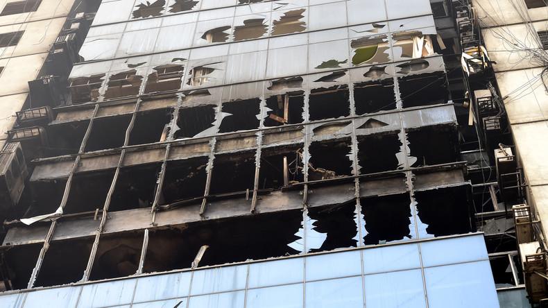 25 Tote bei Hochhausbrand in Dhaka - Fahrlässigkeit vermutet