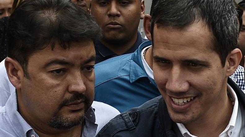 Guaidós Stabschef in Venezuela inhaftiert