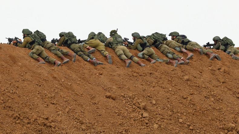 Israel warnt Menschen in Gaza, sich nicht dem Sperrzaun zu nähern