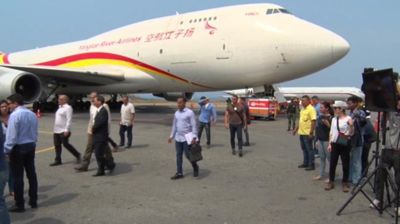 Venezuela: China liefert erste Ladung humanitärer Hilfe