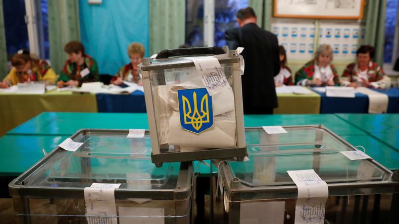 Erste offizielle Wahlergebnisse in Ukraine: Poroschenko und Selenskij in Stichwahl (Live-Updates)