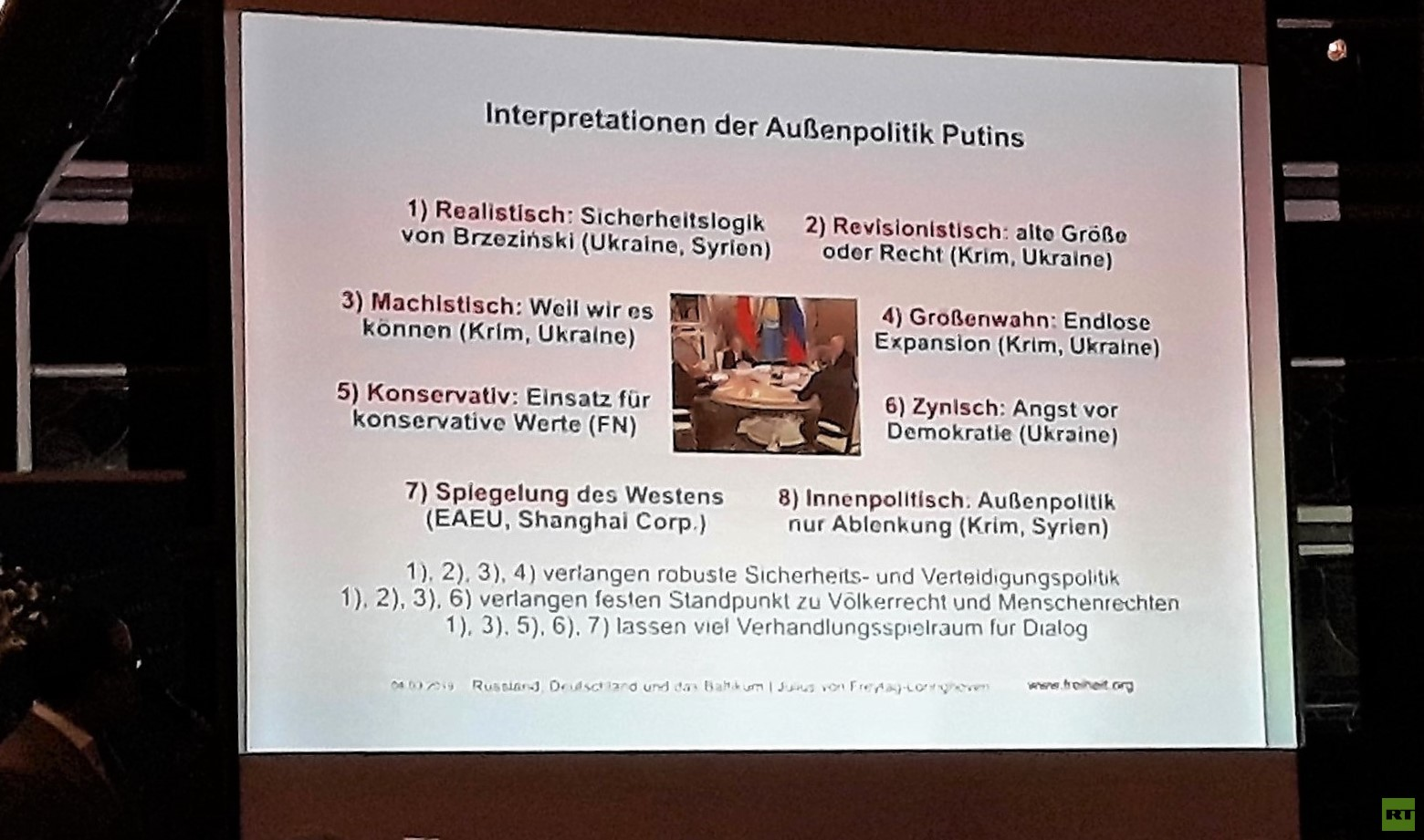 Erfindung der Russen? Deutsche Freunde des Baltikums schauen bei Problemen der Region lieber weg