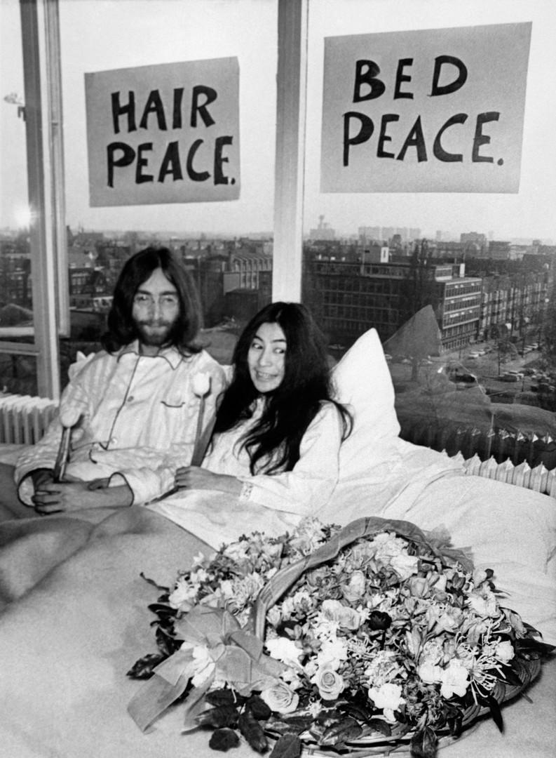 Vor 50 Jahren: Im Bett mit John und Yoko für den Frieden