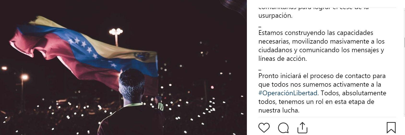 """Guaidó kündigt Beginn seiner """"Operation Freiheit"""" an: """"Letzte Stunde der Ursupatoren hat geschlagen"""""""
