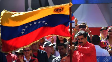 US-Regierung verhängt weitere Sanktionen gegen Umfeld von Nicolás Maduro (Archivbild)
