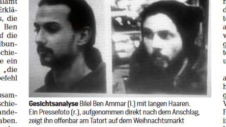 Ausschnitt aus dem Focus-Artikel: Terrorist, Agent oder Ersthelfer?
