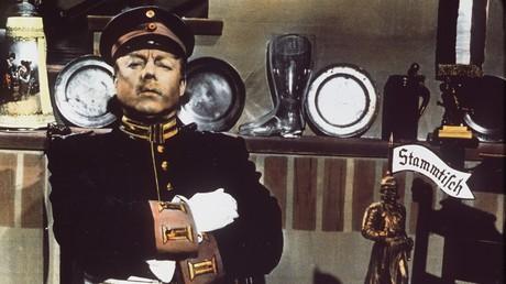 Heinz Rühmann als der Hauptmann von Köpenick (1956).