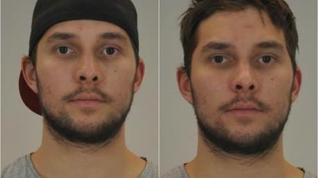Die von der Polizei veröffentlichten Bilder des Tatverdächtigen.