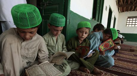 Religionsschule, Islamabad, Pakistan, 15. Juli 2013.