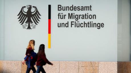 Das Bundesamtes für Migration und Flüchtlinge (BAMF) in Berlin am 15. Oktober 2017.