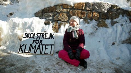 Greta Thunberg wird