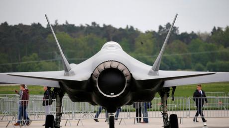 Exportschlager: Lockheed Martin F-35 auf der Internationalen Luft- und Raumfahrtausstellung in Schönefeld im April 2018