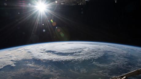 Ein Blick auf den Hurrican