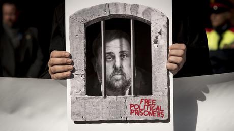 Oriol Junqueras, einer der Führer der katalanischen Separatisten, denen derzeit vor dem spanischen Obersten Gerichtshof der Prozess gemacht wird – und die maßgeblichen Anteil am Erfolg der politischen Rechten in Spanien haben