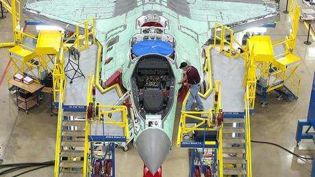 Ein F-35-Kampfjet wird