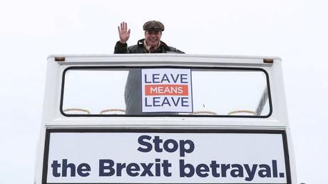 Ex-Ukip-Chef Nigel Farage sorgt sich um EU-Austritt Großbritanniens