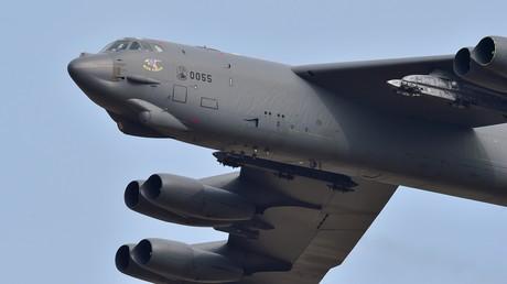 Strategische Langstreckenbomber des Typs B-52 sind in Großbritannien für NATO-Übungen gelandet. Einer flog gestern einen simulierten Angriff auf die russische Exklave Kaliningrad.