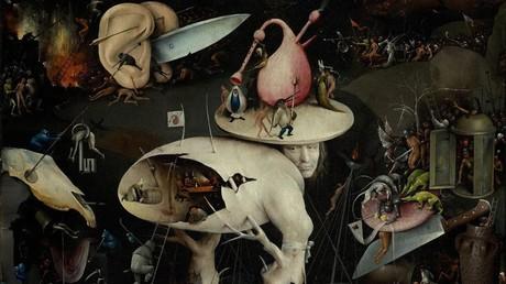 Ausschnitt aus dem Triptychon