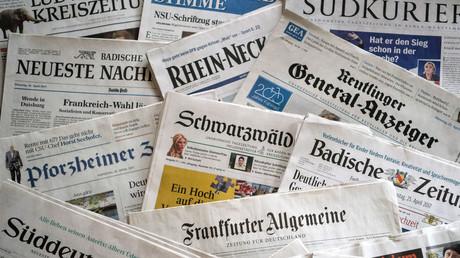 Verschiedene deutsche Zeitungen (Archivfoto)