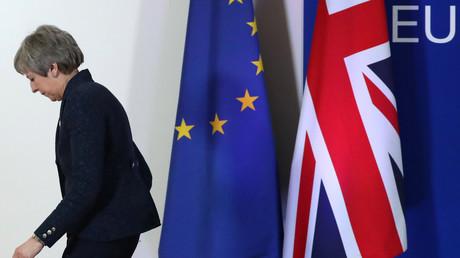 Die britische Premierministerin Theresa May, Brüssel, Belgien, 22. Mai 2019.