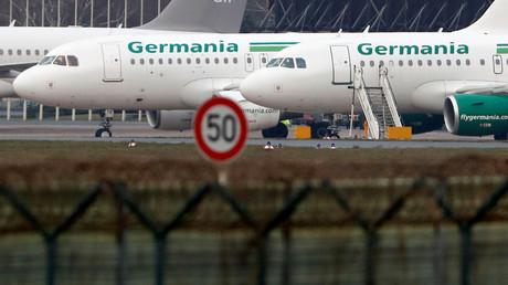 Rettung der insolventen Fluggesellschaft Germania gescheitert (Symbolbild)