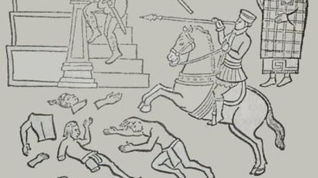 Massaker von Cholula, Oktober 1519