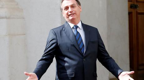 Diktatur? Welche Diktatur?  Jair Bolsonaro in Santiago, Chile, am 23. März 2019.