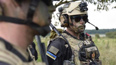 US-Hilfe für ukrainische Streitkräfte seit 2014 über 1,3 Mld. Dollar – NATO-Beitritt dennoch fern (Archivbild: Teilnehmer der militärischen Übung