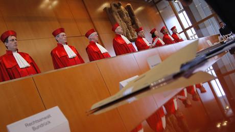 (Archivbild). Das Bundesverfassungsgericht in Karlsruhe.