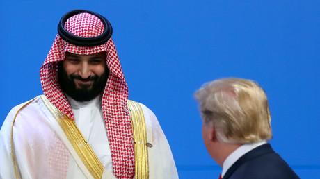 US-Präsident Donald Trump und der saudische Kronprinz Mohammed bin Salman beim G20-Gipfel in Buenos Aires, Argentinien, 30. November 2018