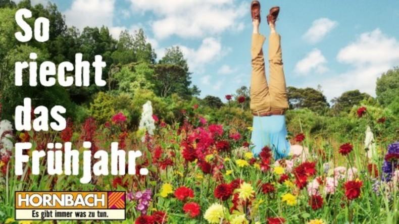 """Es gibt immer was zu tun: Hornbach-Werbung über """"Frühlingsgerüche"""" erntet Rassismus-Kritik"""