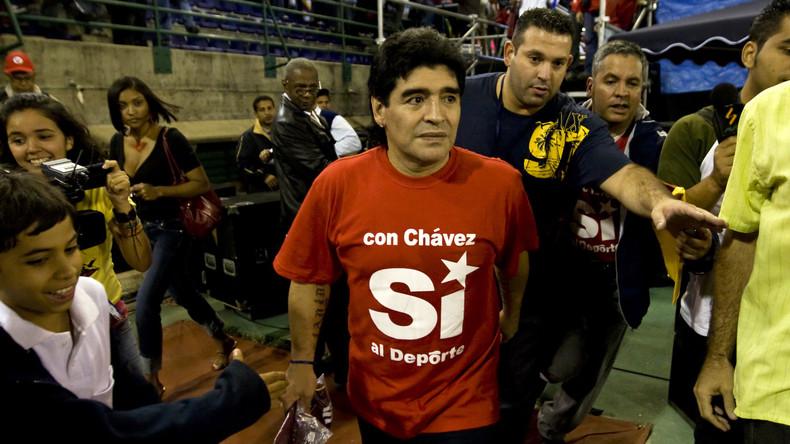 """""""Wer sind diese Yankees?"""": Maradona greift Washington wegen Einmischung in Venezuela an"""