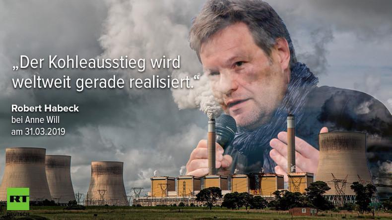 Robert Habeck und der Traum vom weltweiten Kohleausstieg