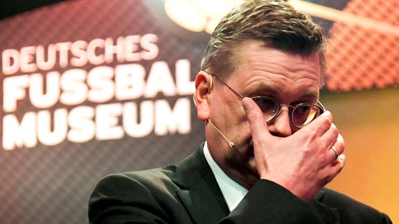 Wegen Korruptionsvorwürfen: DFB-Präsident Grindel tritt mit sofortigerWirkung zurück
