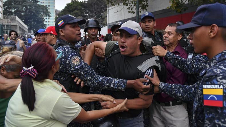 Venezuela: Juan Guaidó sucht mit Besuch von Maduro-Hochburg gezielt die Provokation (Video)