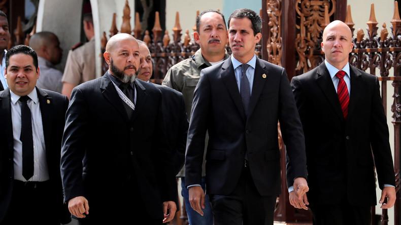 Juan Guaidó droht venezolanischer Regierung nach Verlust seiner Immunität