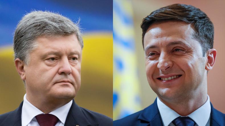 Endgültiges Wahlergebnis in Ukraine steht fest - Selenskij und Poroschenko planen gemeinsame Debatte