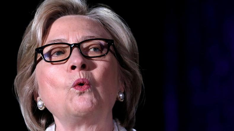 """Briten statt Russen: 47 Prozent der US-amerikanischen Wähler glauben nun an ein """"Hillary-Gate"""""""