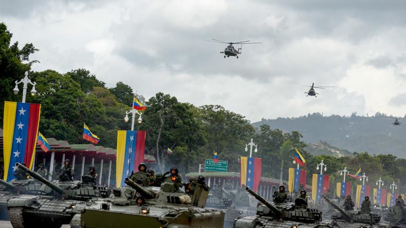 Maduro versetzt Militär und Volksmiliz in höchste Alarmbereitschaft wegen drohender US-Intervention