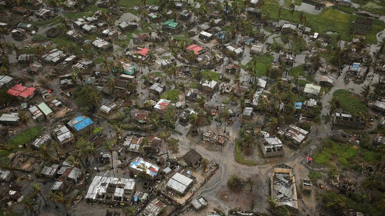 Fast 600 Tote und Tausende Existenzen zerstört: Luftbilder nach tödlichem Zyklon in Mosambik