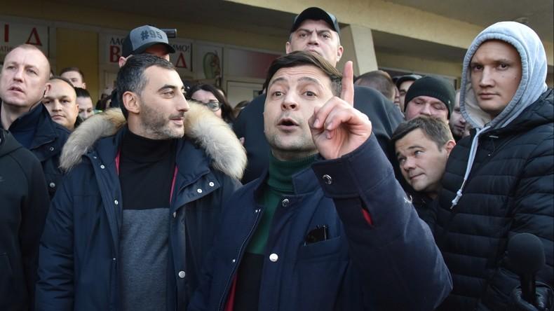 """Selenskij will Donbass zurückholen: """"Den Krieg gewinnen durch Diplomatie und Wirtschaftswachstum"""""""