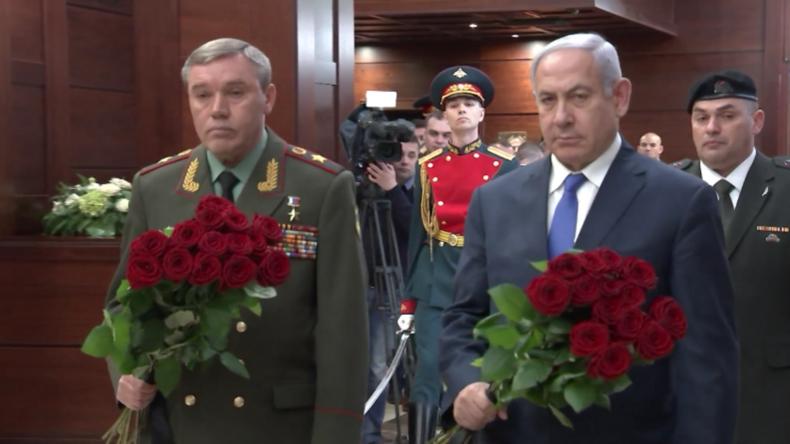 Netanjahu nimmt sterbliche Überreste eines 1982 getöteten Soldaten entgegen