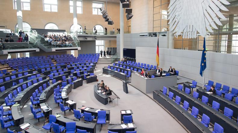 LIVE: 93. Sitzung des Deutschen Bundestages - Themen: Gewaltherrschaft sowie Verfassungsschutz