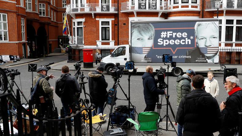WikiLeaks warnt: Assange droht Ausweisung und Festnahme innerhalb der nächsten Stunden