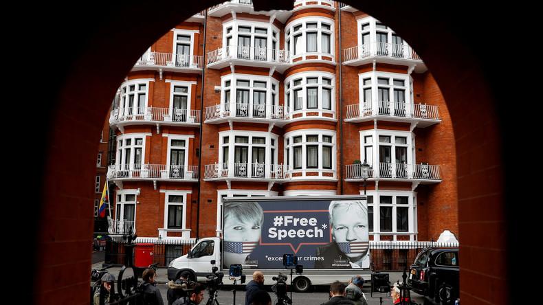 LIVE: Assange droht heute Ausweisung aus ecuadorianischer Botschaft in London