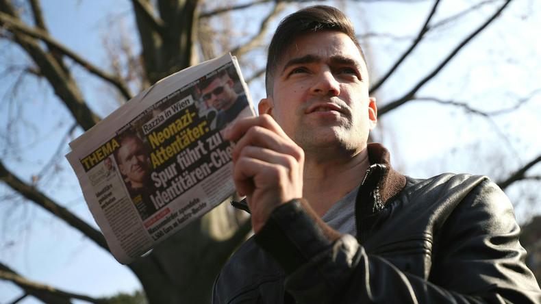 Österreich: Chef der Identitären klebte einst Hakenkreuze an Synagoge